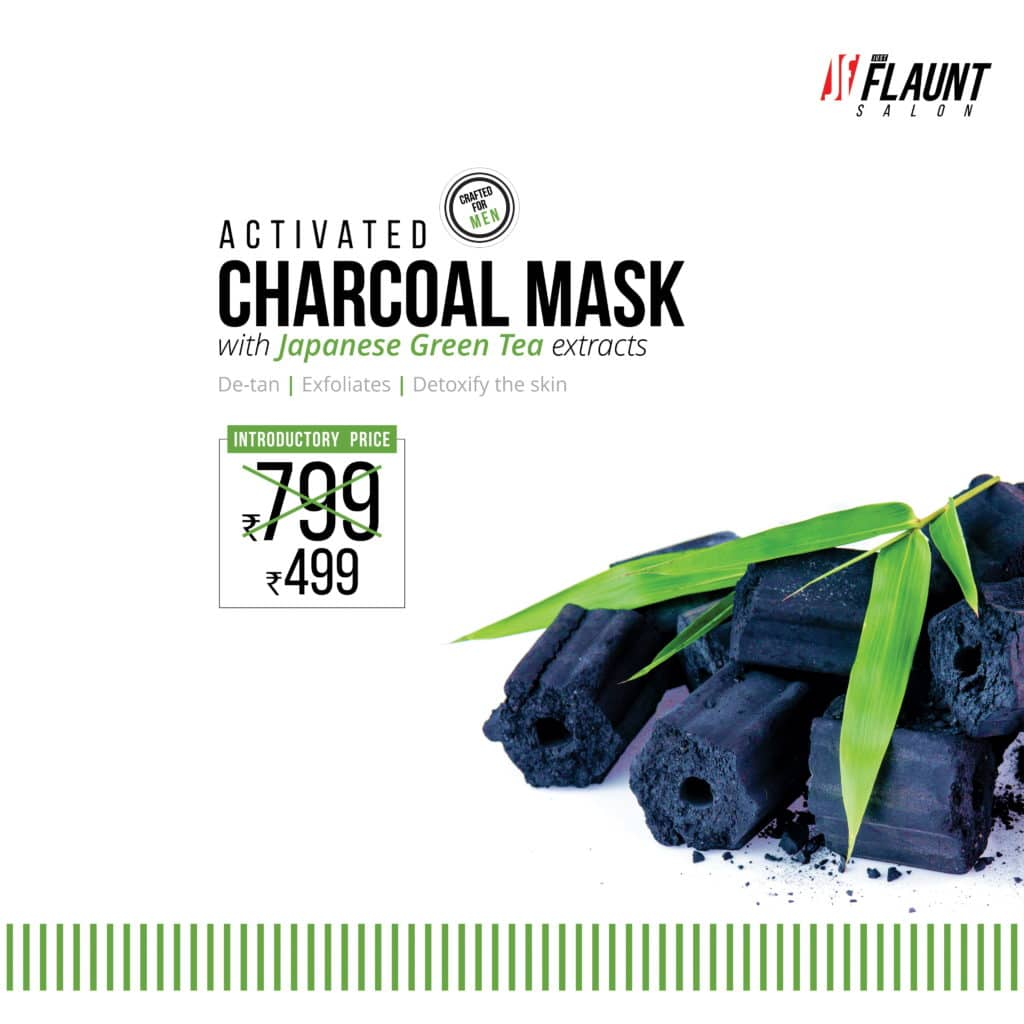 Activated Charcoal Face Mask at Just Flaunt Salon
