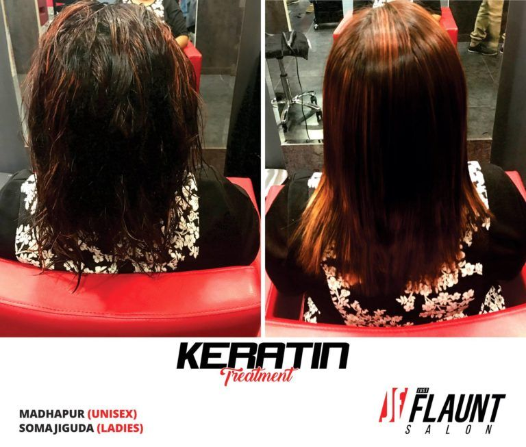 Keratin Treatment in Hyderabad – Just Flaunt Salon